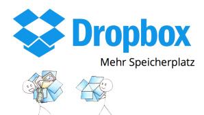 Dropbox Speicherplatz ©Dropbox