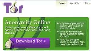 Tor Website ©COMPUTER BILD