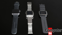 Apple Watch Pebble Steel Pebble Time © COMPUTER BILD