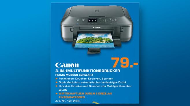 Canon PIXMA MG5550 ©Saturn