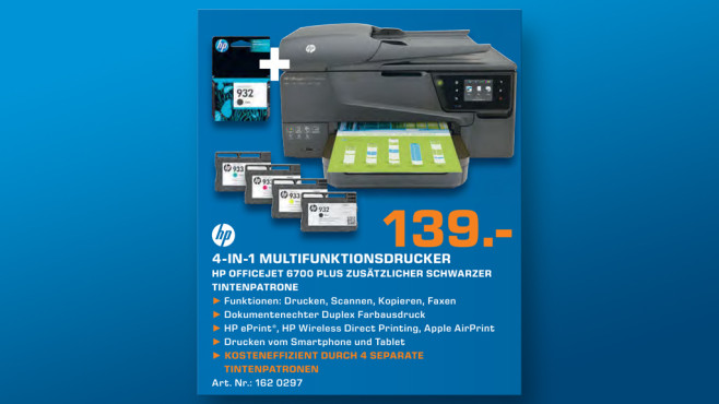 Hewlett-Packard HP Officejet 6700 © Saturn