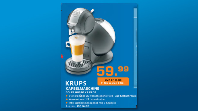 Krups Nescaf� Dolce Gusto Melody 3 ©Saturn