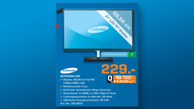 Samsung S27D390H ©Saturn