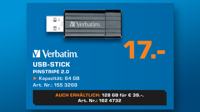 Verbatim USB-Stick 64GB © Saturn