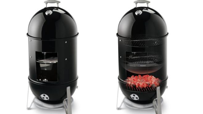 weber smokey mountain cooker im test computer bild. Black Bedroom Furniture Sets. Home Design Ideas