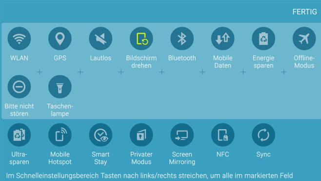 Nur notwendige Telefonfunktionen ©COMPUTER BILD