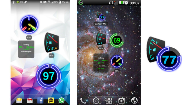 Battery Monitor Widget ©fsinib