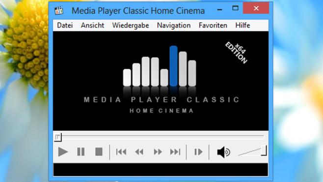 Media Player Classic – Home Cinema © COMPUTER BILD