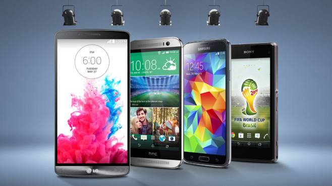 Smartphone-Test: Die besten Modelle ©LG, HTC, Samsung, Sony, kantver - Fotolia.com
