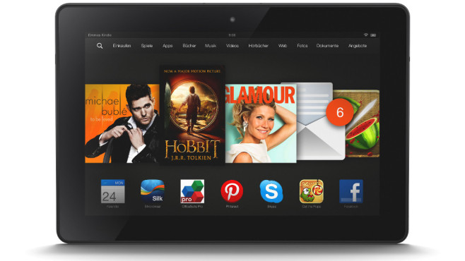 Platz 2 (Tablet-PCs): Amazon Fire HDX 8.9 (2014) © Amazon