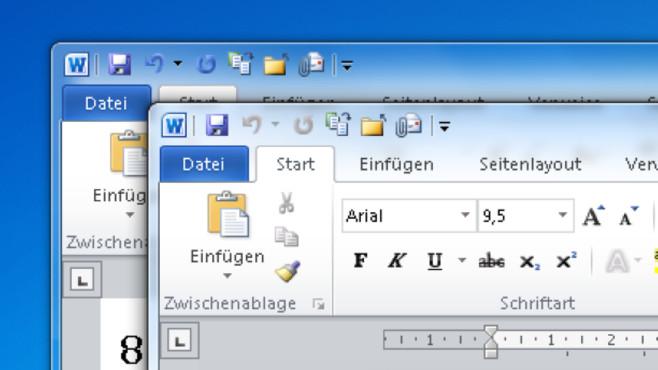 Dokumenten wechsel ©Microsoft/COMPUTER BILD