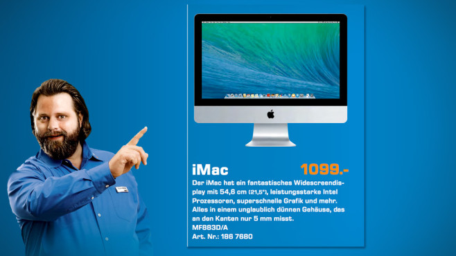 Apple iMac 21,5 Zoll © Saturn