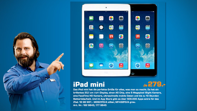 Apple iPad mini Wi-Fi 16GB © Saturn