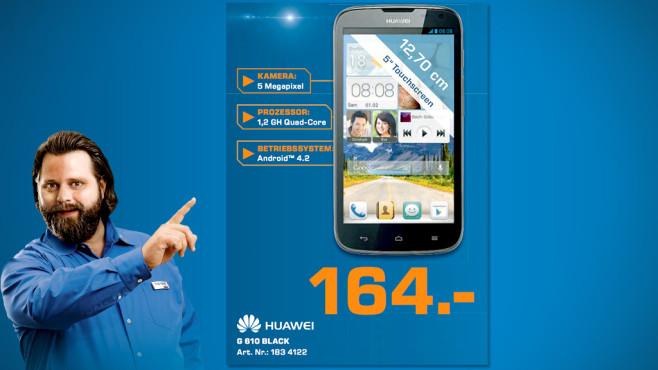 Huawei Ascend G610 ©Saturn