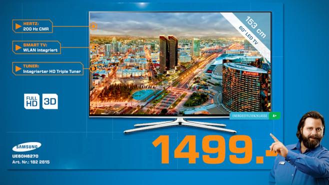 Samsung UE60H6270 ©Saturn