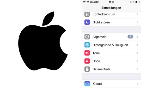LED-Blitz-Benachrichtigungen aktivieren ©COMPUTER BILD, Apple