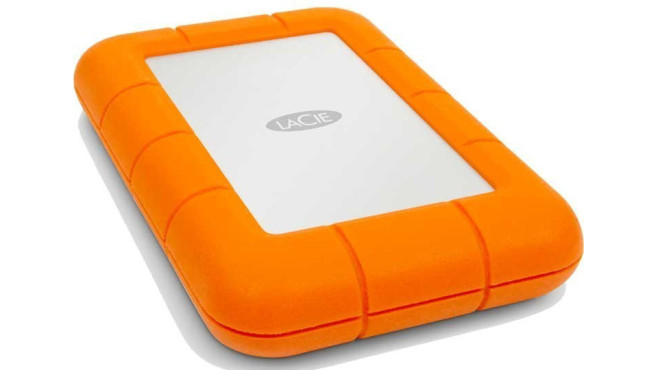 Stoßsichere Festplatte LaCie Rugged USB 3.0 Thunderbolt © LaCie Rugged
