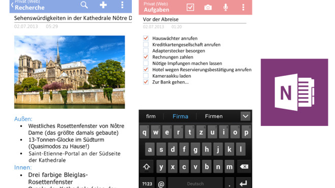 OneNote © Microsoft Corporation