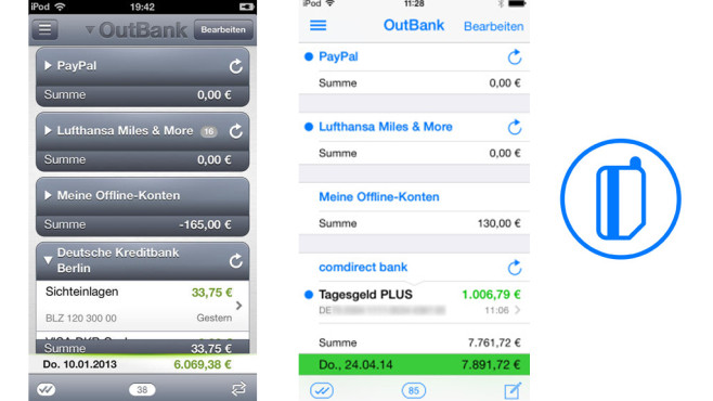 Outbank © stoeger it GmbH