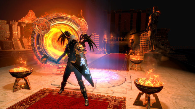 Free to Play: Path of Exile © Grinding gear games