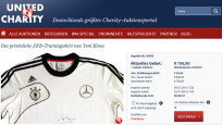 Online-Auktion: Trainings-Shirt Toni Kroos © United Charity