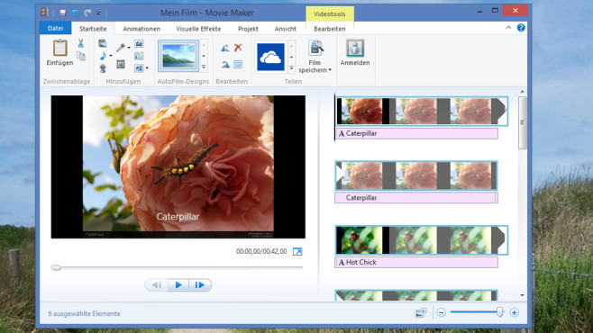 Windows Movie Maker: Videos erstellen, bearbeiten, optimieren © COMPUTER BILD