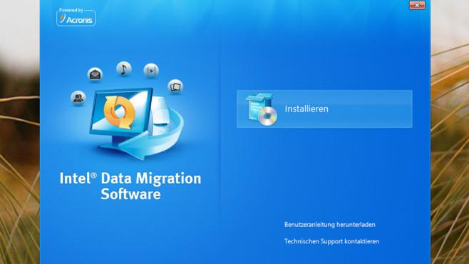 Intel Data Migration Software: Daten auf SSD schaufeln ©COMPUTER BILD