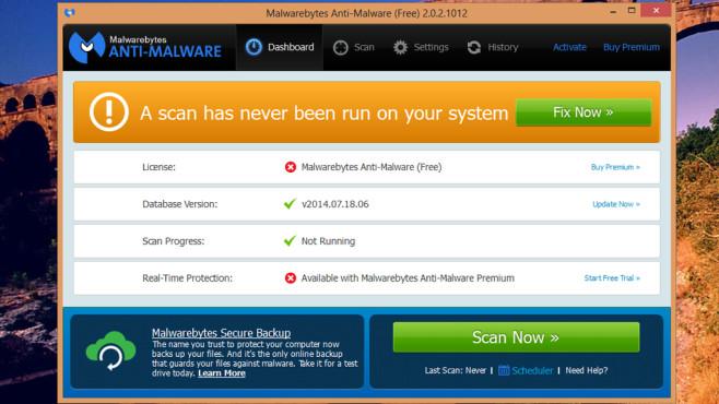 Malwarebytes Anti-Malware: Schadsoftware eliminieren ©COMPUTER BILD