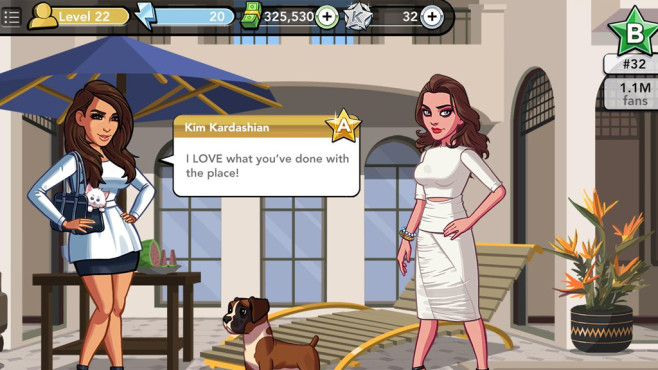 Kim Kardashian – Hollywood © GluMobile