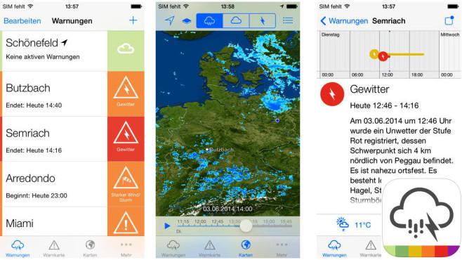 AlertsPro – Unwetterzentrale.de ©MeteoGroup