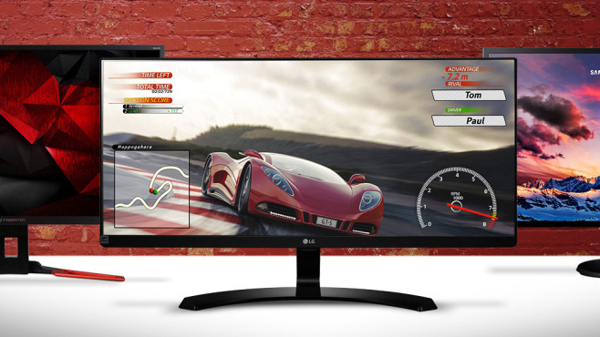 Monitor-Kaufberatung ©Acer, LG, Samsung, �istock.com/keport