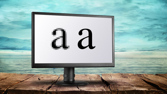 Pixeldichte ©mythja – Fotolia.com, AOC