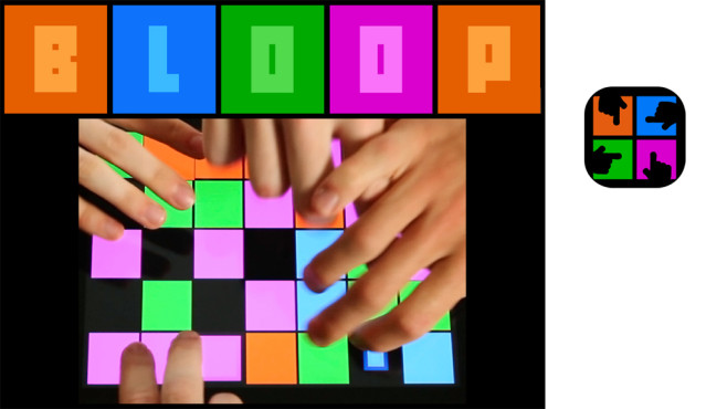 Bloop – Tabletop Finger Frenzy © Noodlecake Studios Inc