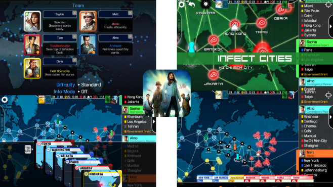 Pandemic – The Board Game © F2Z Digital Media Inc.