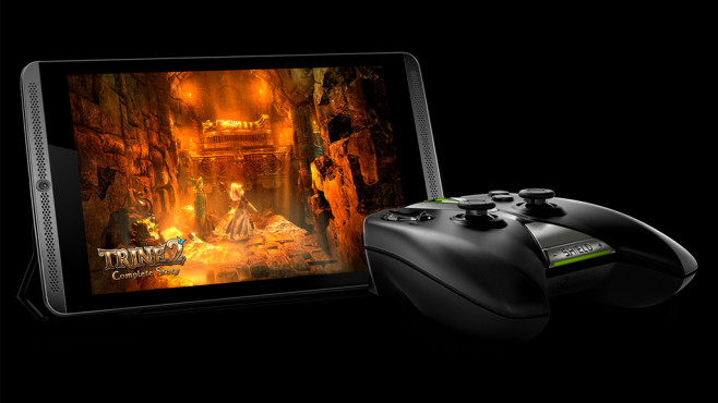 Nvidia Shield Tablet: Controller © Nvidia