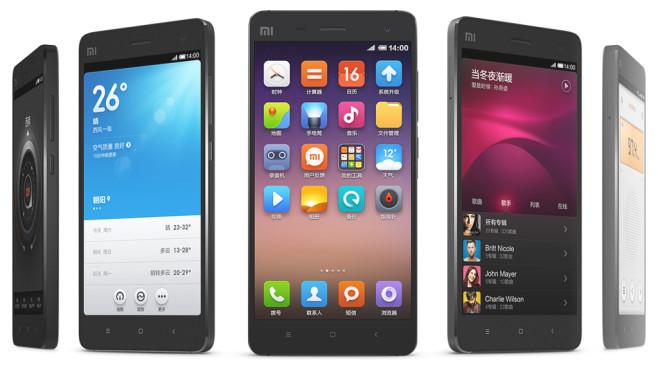 Xiaomi Mi4 ©Xiaomi
