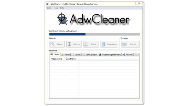 AdwCleaner ©COMPUTER BILD