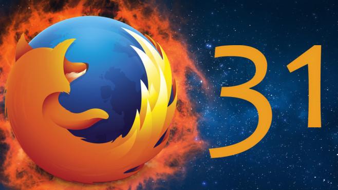 Mozilla Firefox 31 ©Mozilla