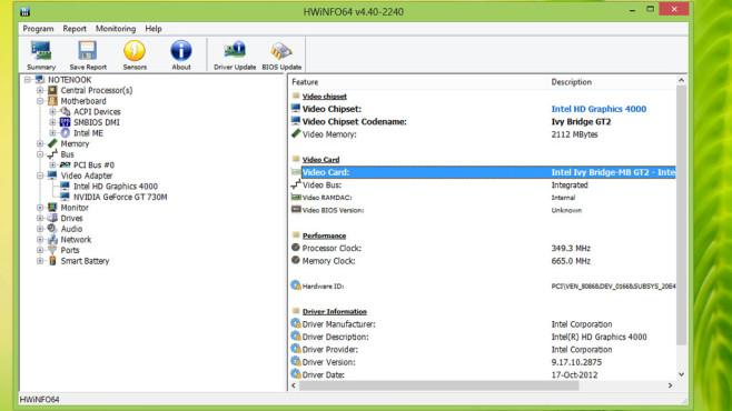 HWiNFO64: Hardware genau analysieren ©COMPUTER BILD