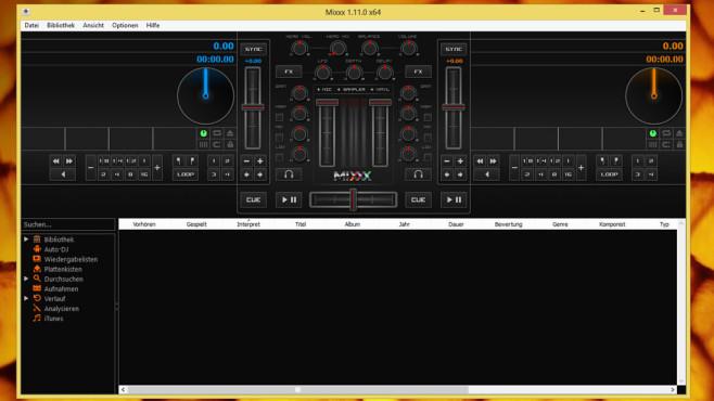 Mixxx: DJ-Software für Partys ©COMPUTER BILD