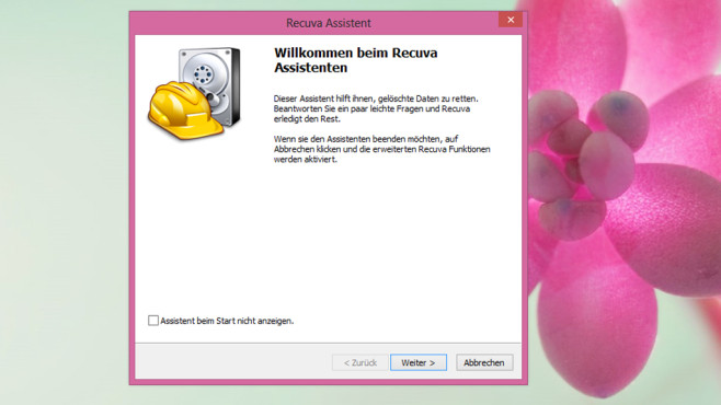 Recuva: Gelöschte Daten retten ©COMPUTER BILD