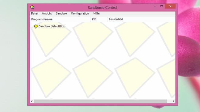 Sandboxie: Programme abgeschottet ausführen ©COMPUTER BILD