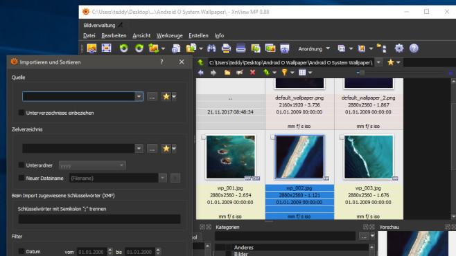XnViewMP: Fotosammlungen verwalten ©COMPUTER BILD