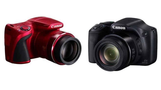 Canon Powershot SX400 IS und SX520 SH ©Canon