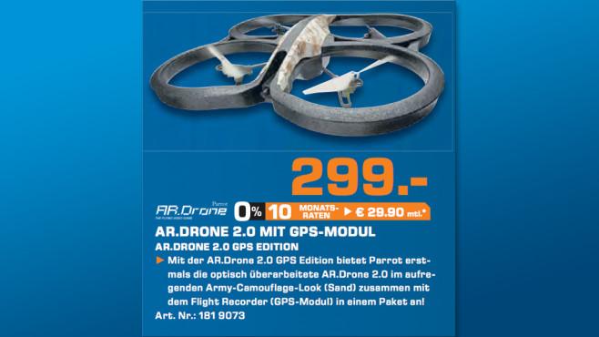 AR Drone 2.0 GPS Edition ©Saturn