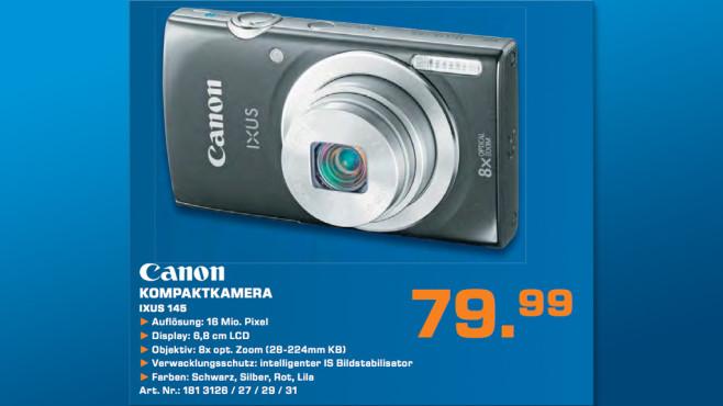 Canon Ixus 145 ©Saturn