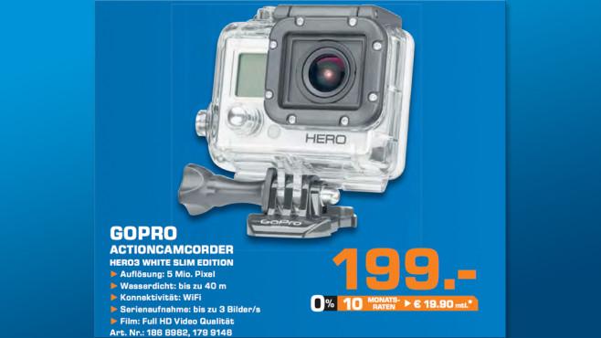 Gopro Hero 3 White Slim Edition ©Saturn