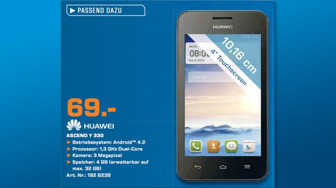 Huawei Ascend Y 330 ©Saturn