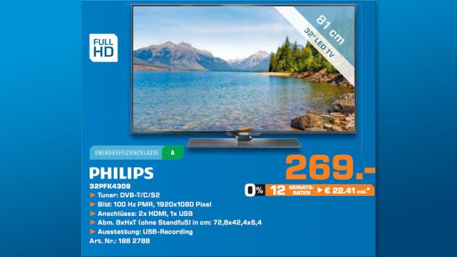Philips 32PFK4309 ©Saturn