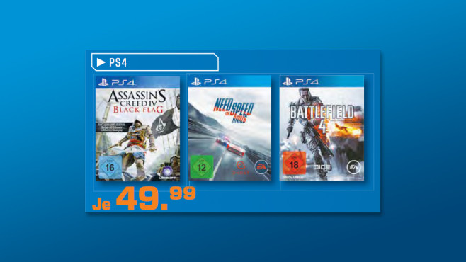Playstation-4-Spiele ©Saturn